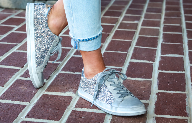 target sparkle sneakers