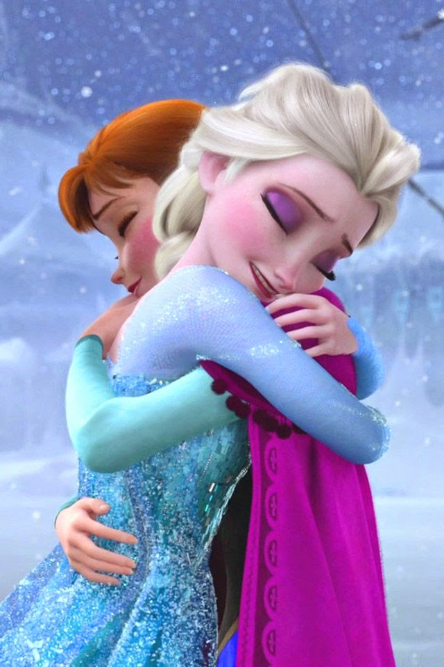 Frozen animatedfilmreviews.filminspector.com Anna and Elsa