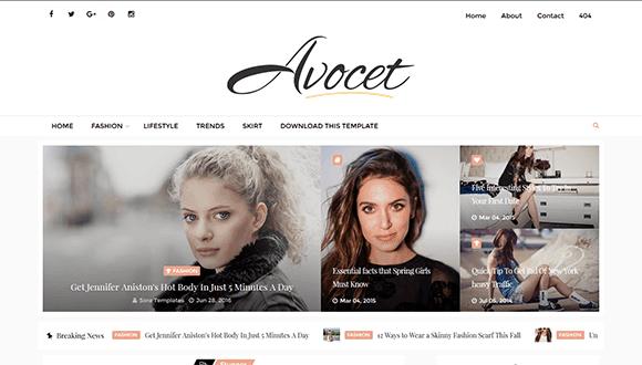avocet-blogger-teması