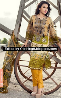 Ayesha Chottani Eid 2015 collection by Shariq