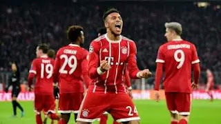 Bayern Munchen Habisi Paris Saint-Germain di Allianz Arena