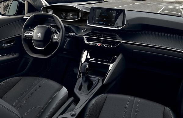Interior Peugeot 208 2020