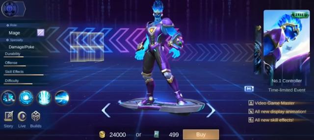 9 Bocoran Skin Mobile Legends Terbaru Update November 2019