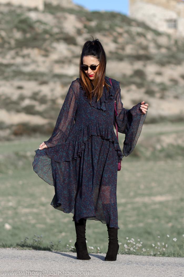 Ideas para vestir estando embarazada de la blogger de moda