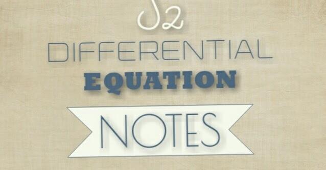 KTU S2 DIFFERENTIAL EQUATION NOTES - KTU ASSIST