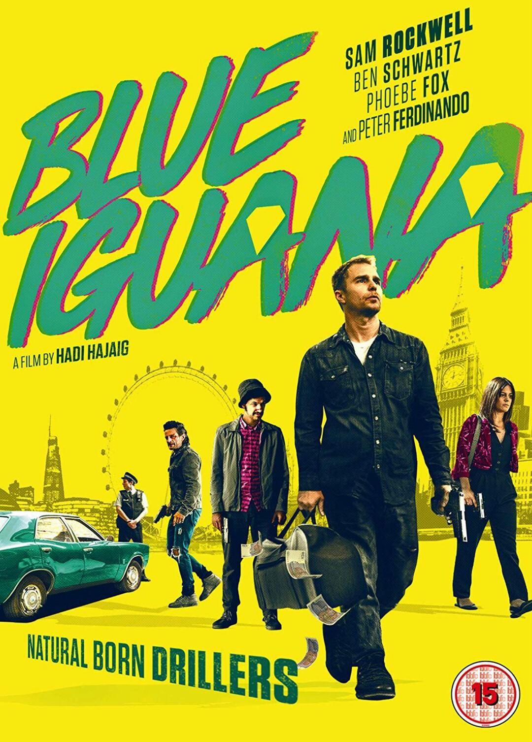 Win Blue Iguana on DVD