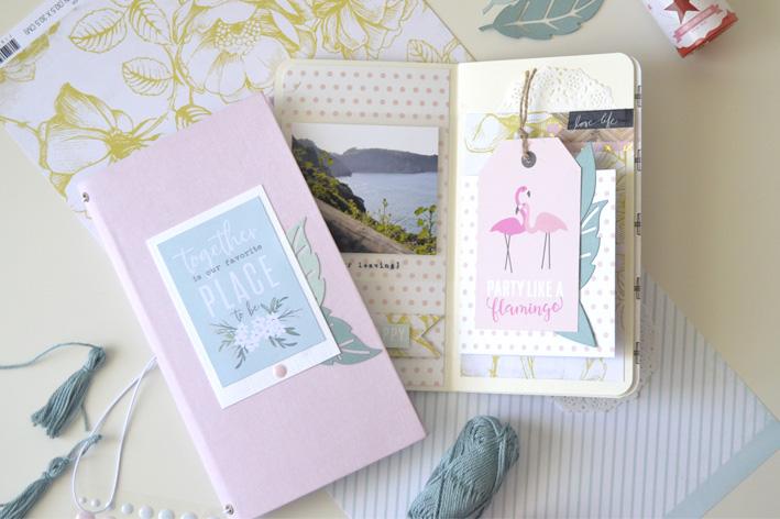 Taller de midori veraniego o cuaderno de viaje en Ideas en Polvo