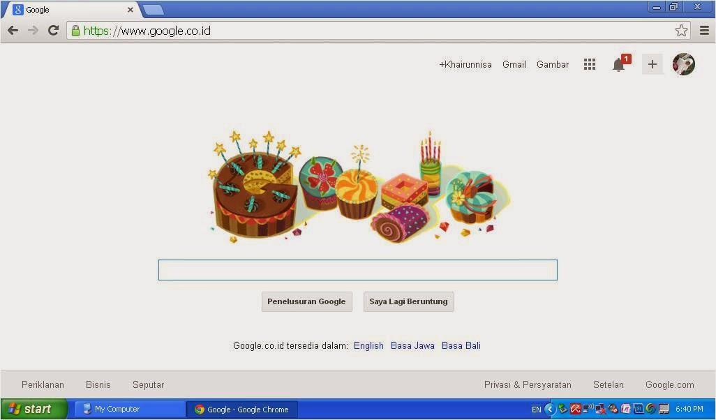 Cara Mendapat Ucapan Ultah Dari Google