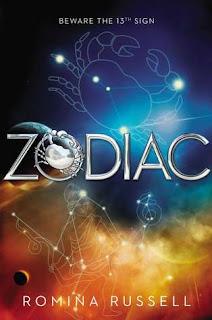 zodiac romina russell, book, space, fantasy sci-fi,