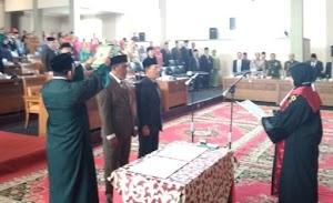 Di Dharmasraya, Ketua DPRD Definitif Belum Ada, Dua Wakil Ketua Definitif Sudah Dilantik