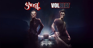 Ghost and Volbeat @AllstateArena