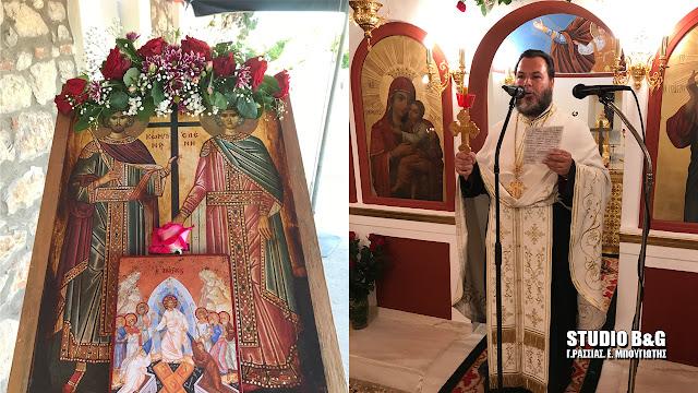 Η εορτή των Αγίων Κωνσταντίνου και Ελένης στον Ίναχο Αργολίδας
