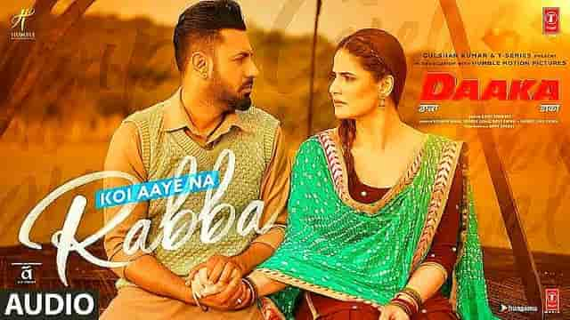 Koi Aaye Na Rabba Song Lyrics