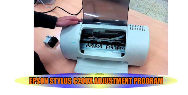 Epson Stylus C20UX Printer Adjustment Program