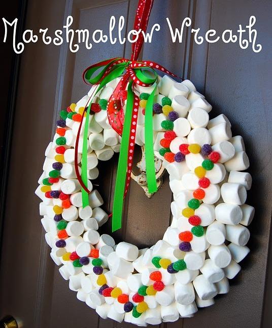 Mundo fili como decorar con una corona navide a de bombones - Decoracion navidena para ninos ...