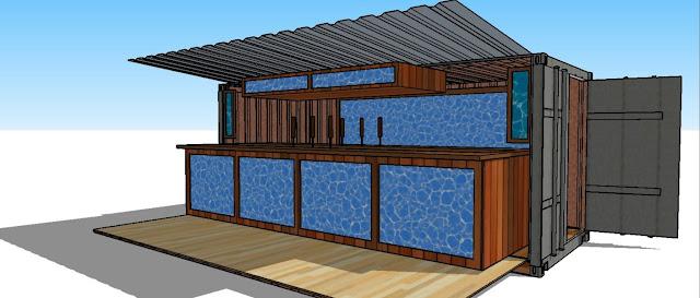 Container Kiosk design