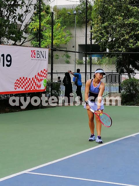 Tumbangkan Unggulan 4, Priska Melaju ke Perempat Final Tennis Open di Jakarta