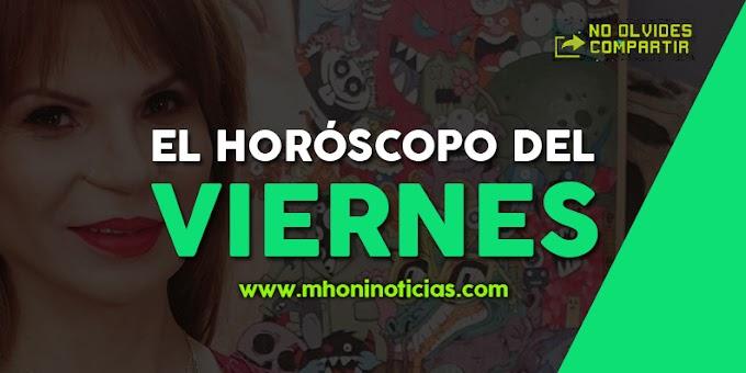 Los Horóscopo del VIERNES 31 de JULIO del 2020 - Mhoni Vidente