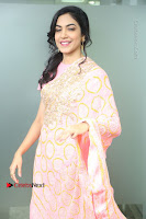 Actress Ritu Varma Pos in Beautiful Pink Anarkali Dress at at Keshava Movie Interview .COM 0062.JPG