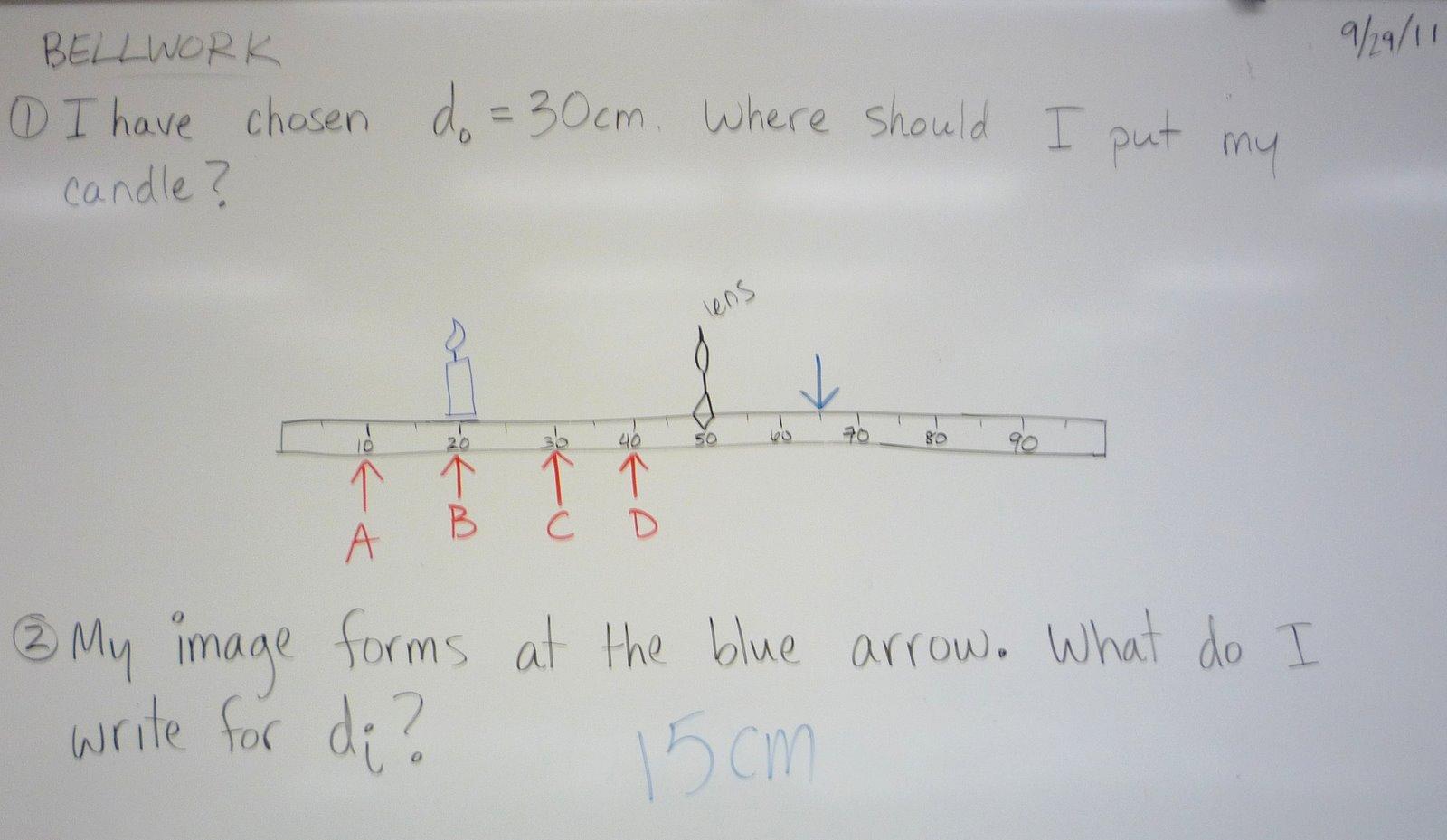 Physics At Desert View High School September