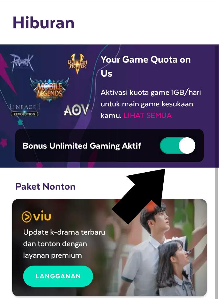 Cara Tembak Kuota Axis 1gb Khusus Paket Games Gratis 2020