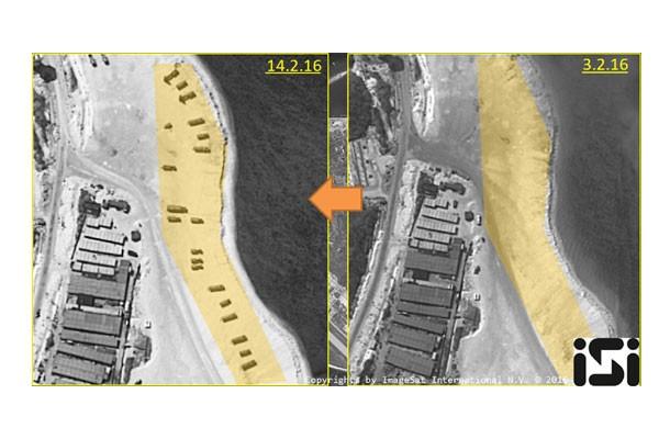 Tiongkok konfirmasi ada persenjataan di pulau sengketa Laut China Selatan