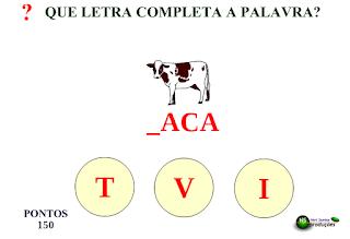 http://www.jogosdaescola.com.br/play/index.php/escrita/242-que-letra-completa-a-palavra