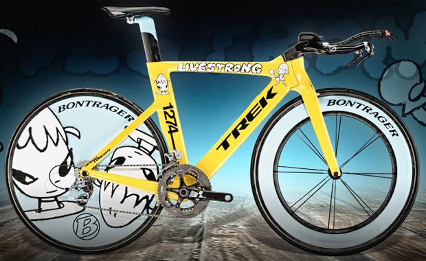 Trek Lance Armstrong Rancangan Yoshitomo Nara sepeda paling mahal di dunia