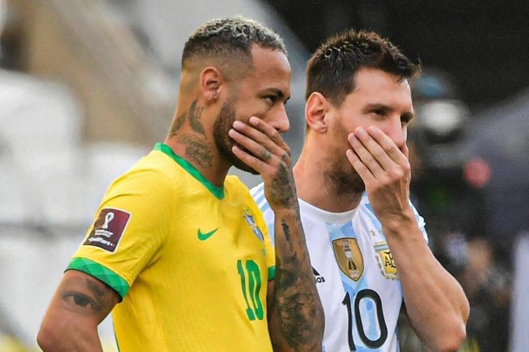 why brazil vs Argentina match stop