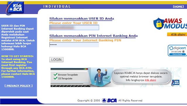 Cara Verifikasi Rekening Bank di Google Adsense