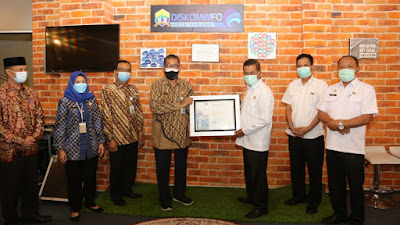 Kota Serang Menerima Penghargaan BKN Award 2021