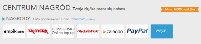 Ankiety Toluna, nagrody, PayPal.