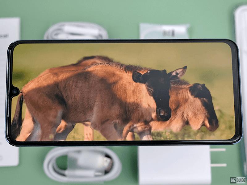 AMOLED 90Hz screen for V21 5G
