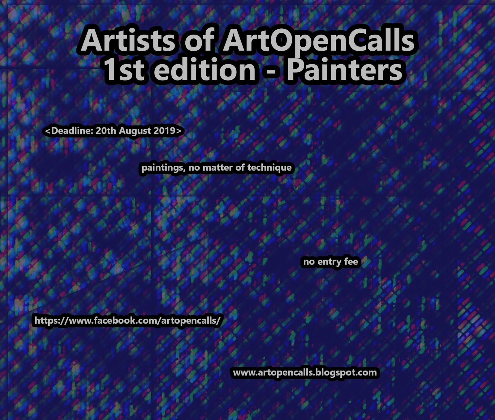 International Art Competitions - art contest for artists