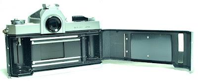 Nikomat FTN (Chrome) Body #502, Nikkor (Pre-Ai) 50mm f/2 #294