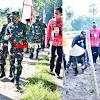 Kawal Ketersediaan Pangan Di Tengah Pandemi Covid-19,  Kasdam Hasanuddin Tanam Jagung di Lahan Tidur