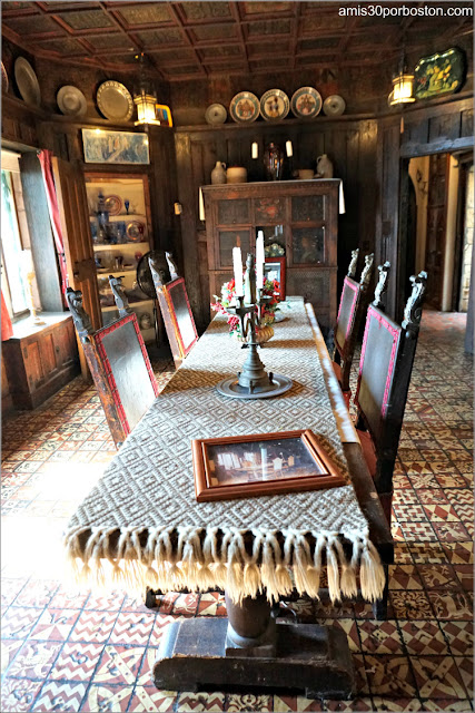 Mesa del Comedor del Castillo Hammond, Gloucester