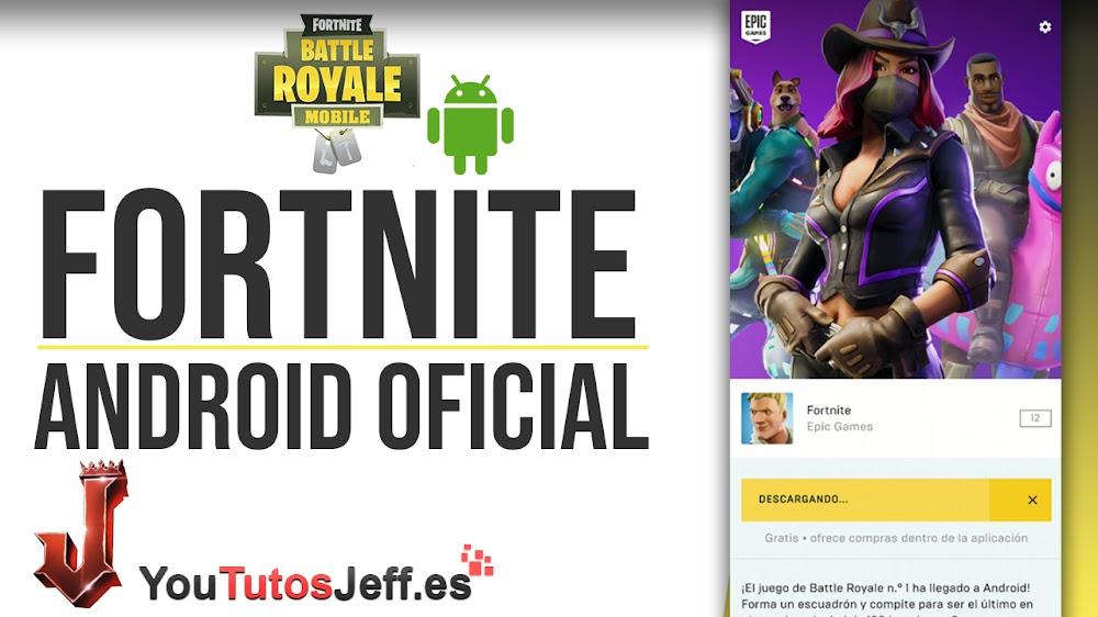 Descargar Fortnite para Android Oficial Gratis y Seguro