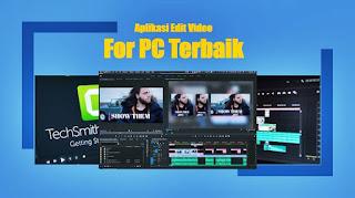 aplikasi edit video for pc terbaik