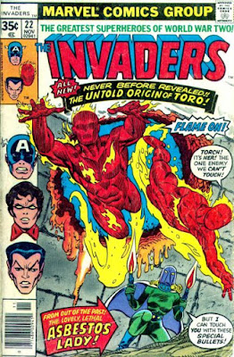 Invaders #22, Asbestos Lady