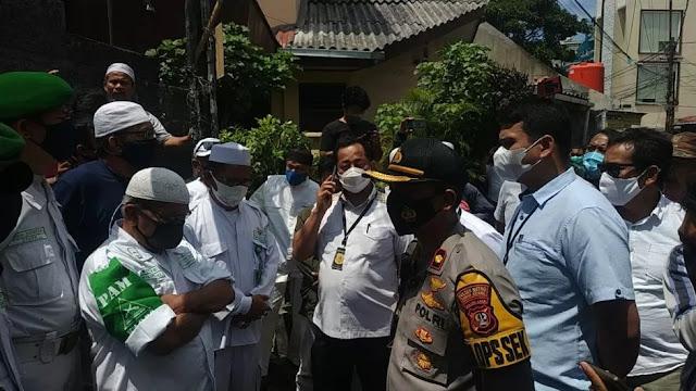 FPI Jelaskan Alasan LPI 'Usir' Polisi dari Petamburan