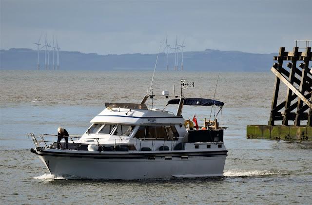 Photo of Ravensdale returning to Maryport Marina. Photo by Bryan Hewitt