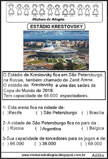 Estádio Krestovsky copa mundial Rússia
