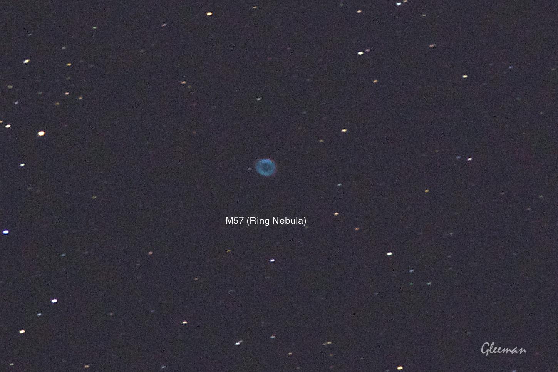 M57/ Pentax Pentax 75SDHF + 1.4XL + K5 ,O-GPS1 Astrotracer/ cropped