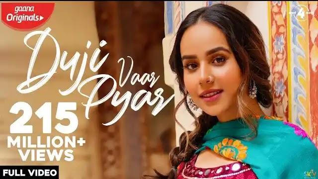 Duji Vaar Pyar song lyrics | Sunanda Sharma | Jaani