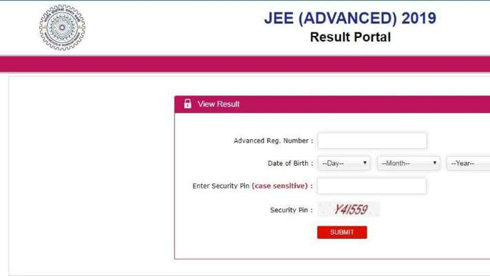 Announced: JEE Advanced Result 2019 declared, here's how to check at results.jeeadv.ac.in