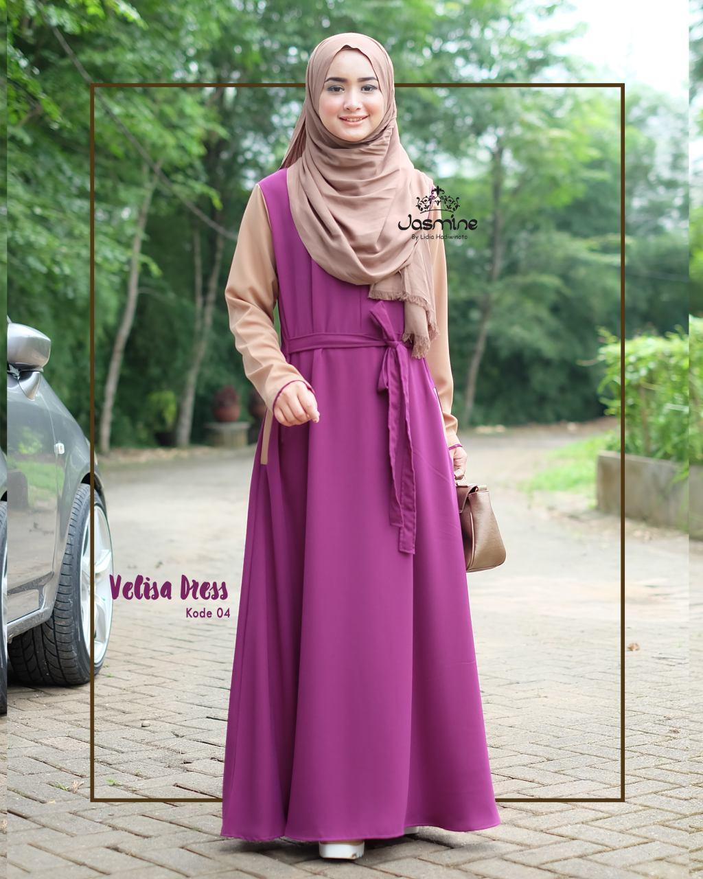 Jasmine Hijab Jasmine Gamis Velisa Dress