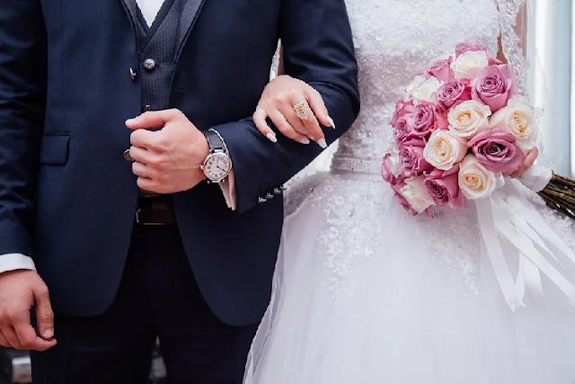 pernikahan pengantin pria