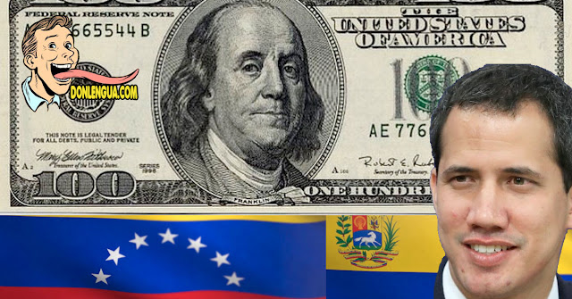 Explican cómo serán entregados los 100$ de Guaidó en los próximos días