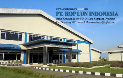 Lowongan Kerja PT HOP LUN INDONESIA